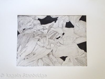 Tulipmania 14 - Etching #1