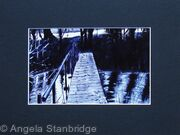 Mounted Print of The Bridge, Castle Ashby