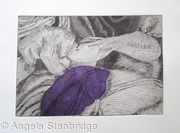 Tulipmania 12 - Etching - Purple