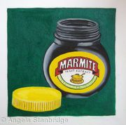 Open Jar of Marmite
