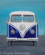 VW Camper Van - Blue