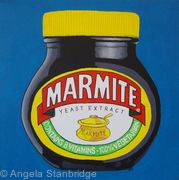 Jar of Marmite - Blue