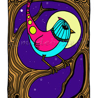 Night Bird  madebysteph
