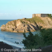 St Catherines  Fort Tenby Pembrokeshire West Wales