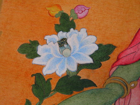 detail of a student's work - Birkbeck College, University of London /British Museum