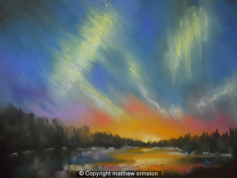 Northern Lights 2 - soft pastel