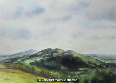 Malvern Hills from British Camp