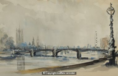 Lambeth Bridge Downstream
