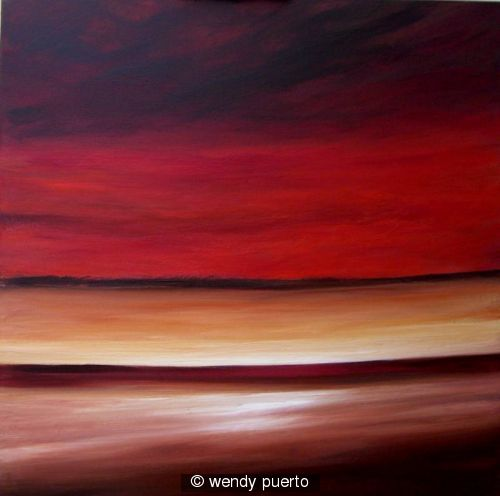 Contemporary Sunset SOLD