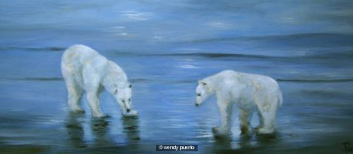 Commission Polar Bears Ice