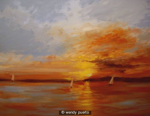 A sunset Impression SOLD!