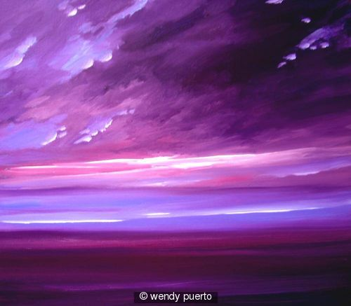 Damson  Plum Skies SOLD