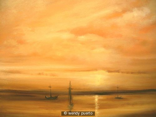 Raw Sienna Skies SOLD