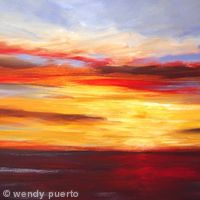 Sunset Horizon SOLD