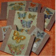 sketchbooks with butterflies