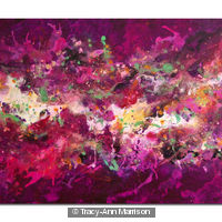 Cosmic Voyage Series 10 Original Abstract Painting on Canvas