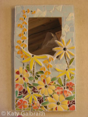 Floral Mirror