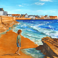 Boy by the Rocks, Elie