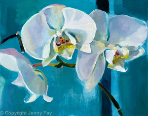 White Orchid: Trio