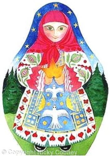 BABUSHKA - Illustration for children's book