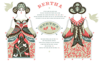Bertha tea-towel