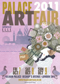 PALACE ART FAIR 2011 - Poster