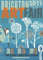 BRIGHTON ART FAIR 2011 - Poster