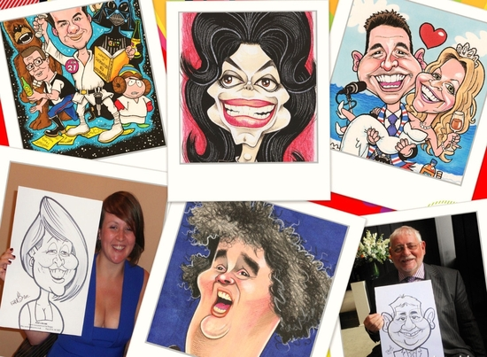 Caricatures and Cartoon Art By Edd Travers