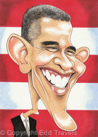 Edd's Heads: President Barack Obama