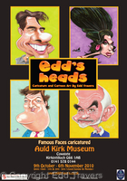 Edd's Heads Exhibition Poster 2010