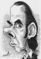 Edd's Heads: Nick Cave