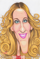 Edd's Heads: Sarah Jessica Parker