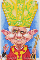 Edd's Heads: Pope Benedict