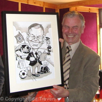 Retirement Presentation Gift Caricature