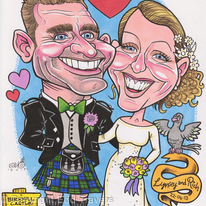 Rich and Lynsey's Wedding Invitation