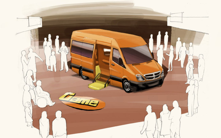 Artist Render of the Mobile Lab