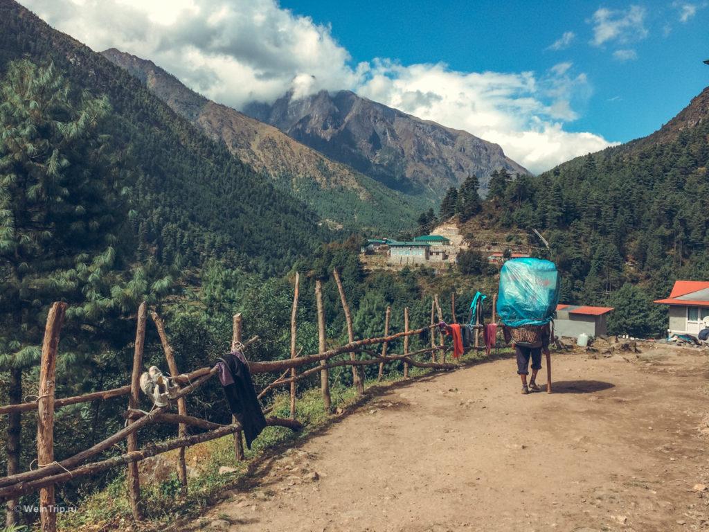 Шерп в Непале