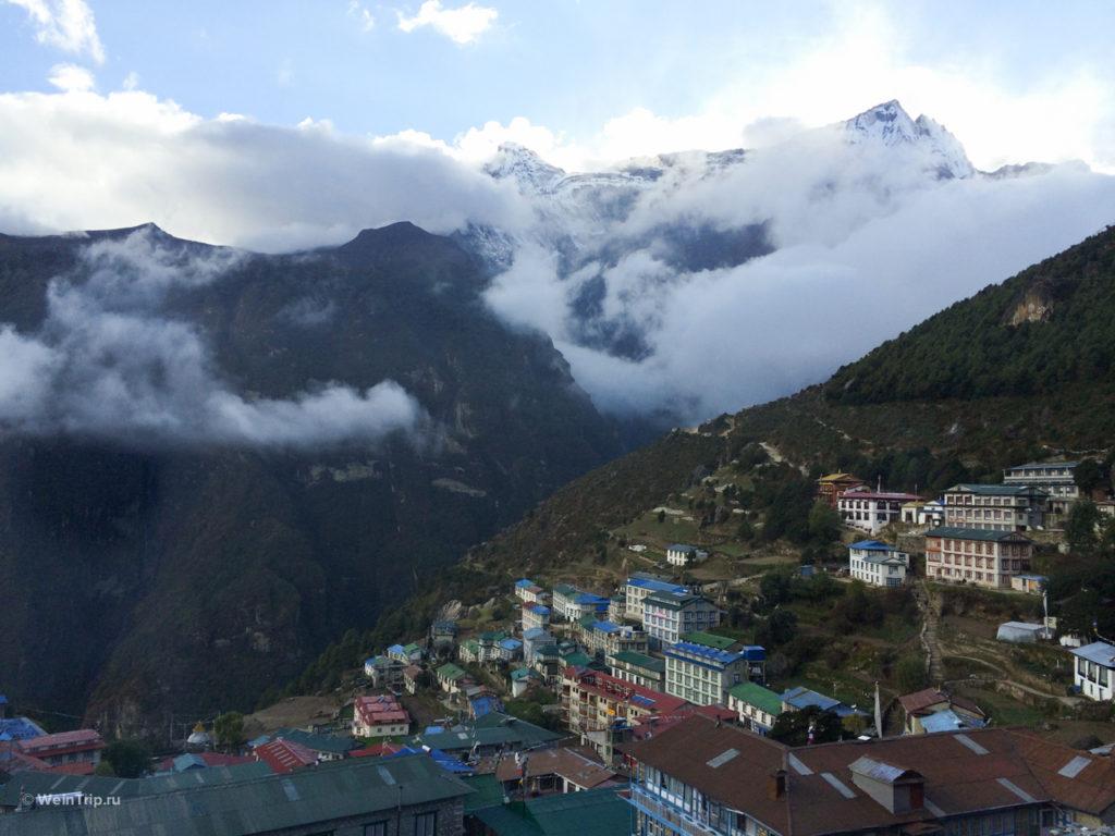 Намче Базар. Треккинг в Непале