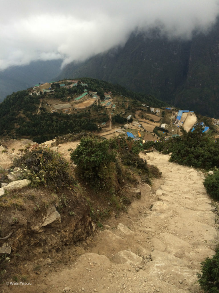Радиалка из Намче Базар. Треккинг в Непале