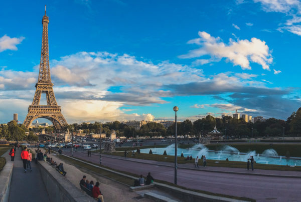 Из Амстердама в Париж на велосипеде