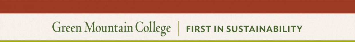 Green Mountain College Office of Graduate Programs Banner