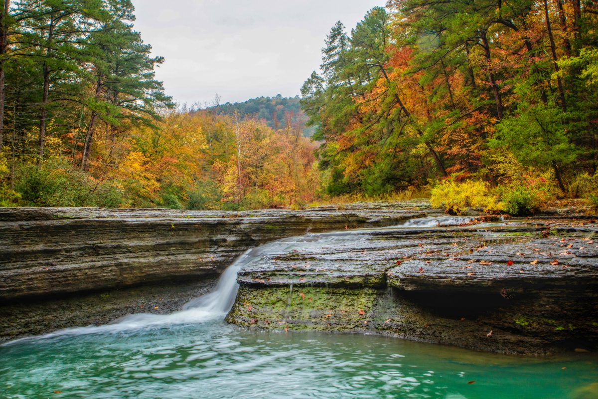 This Magical Waterfall Campground In Arkansas Is Unforgettable