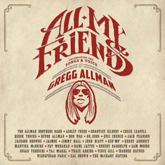 All My Friends Celebrating The Songs & Voice of Gregg Allman DVD