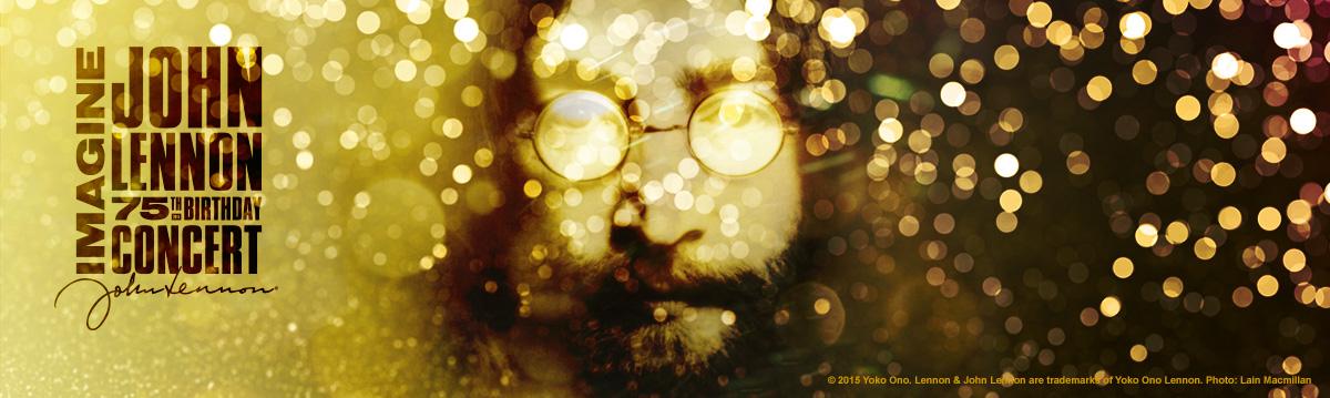 Imagine: John Lennon 75 Social Wall