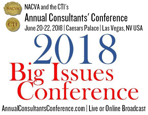 2018 Annual Consultants' Conference...Hear it Here First!
