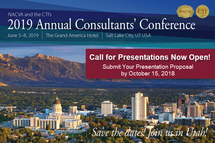 2019 Conference Call for Presentations