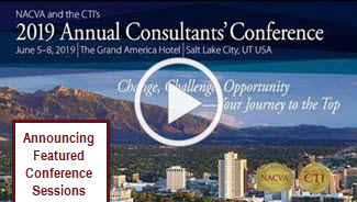 2019 Annual Consultants Conference - Featured Sessions
