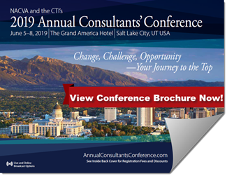 Just Released! 2019 Annual Consultants' Conference Brochure and Agenda
