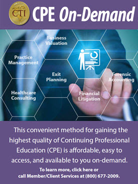 CPE On-Demand An Online Library of nearly 500 recorded webinars
