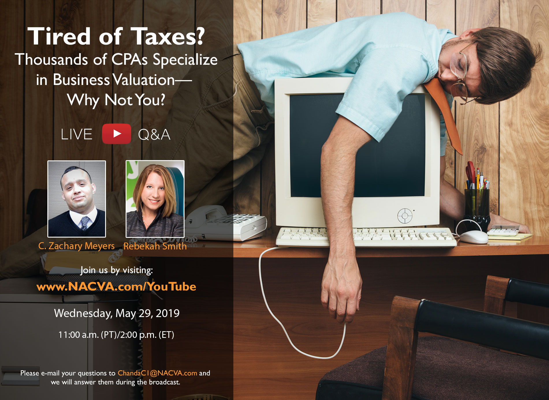 Tired of Taxes? Live Q&A Discussion